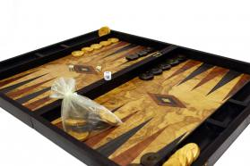 BACKGAMMON - CHESS REPLICA OLIVE CASES