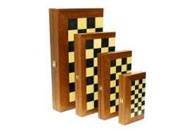 BACKGAMMON-CHESS CHERRY WOOD