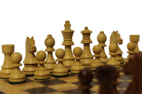 CHESS BOARD HANDMADE SOLID INLAID OLIVE WOOD
