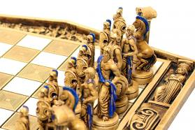 CERAMIC CHESS BOARD 12 GODS