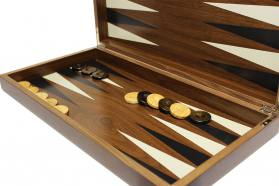 LUXURY BACKGAMMON WALNUT WOOD