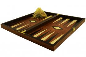 BACKGAMMON CHERRY WOOD