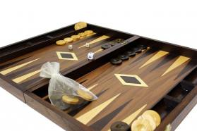 BACKGAMMON WALNUT CASES